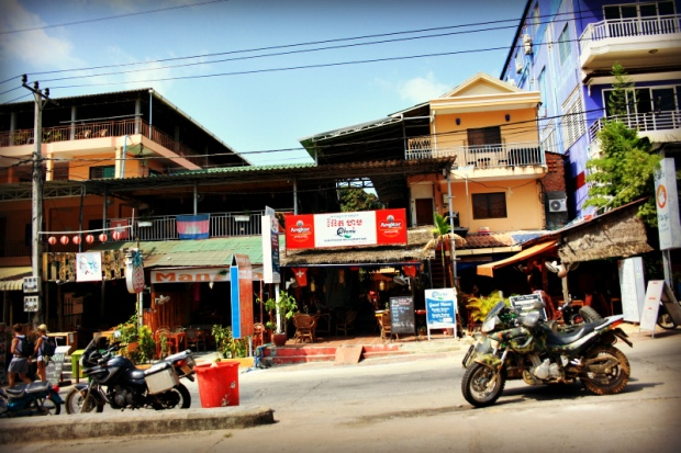 Our hotel in Sihanoukville