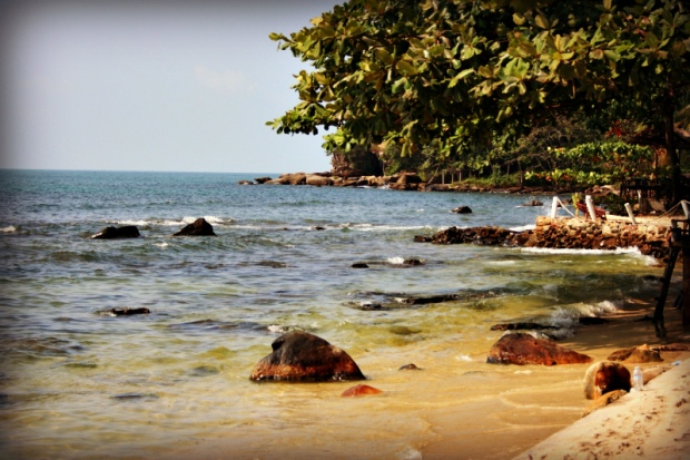 Sihanoukville beach - outside the party zone