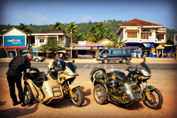 A rest anywhere between Sihanoukville and Koh Kong