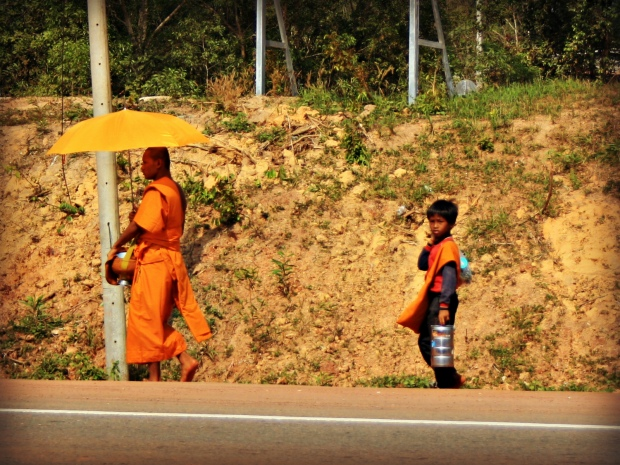 A Buddhist monk and his student