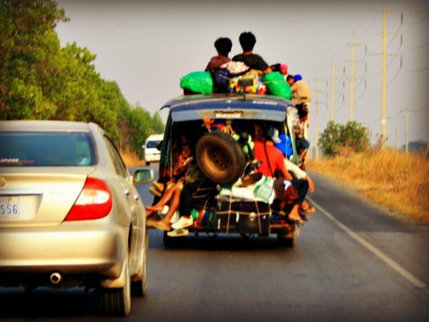 Transportation Cambodian style