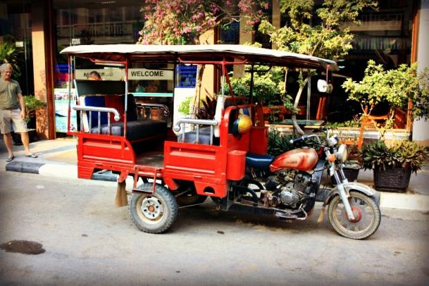A Tuk-Tuk in Battambang