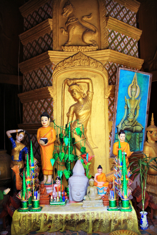 Buddhist monstry
