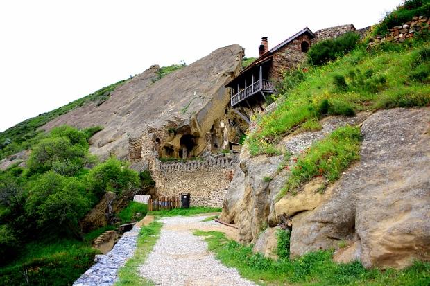 The cave monastry