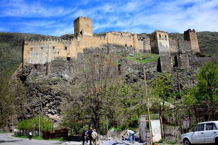 Ancient fortress along the road to Akhalkalaki