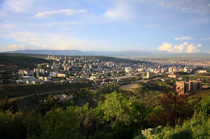 View on Tbilisi-Saburtalo