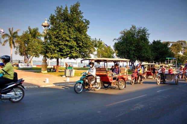 Tuk-Tuks in Phnom Penh