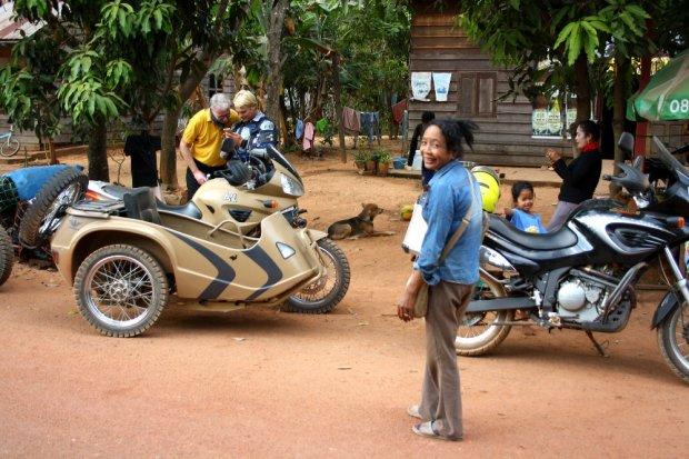 Little village next to Siem Reap