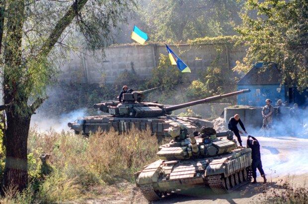 Ukrainian tanks T64