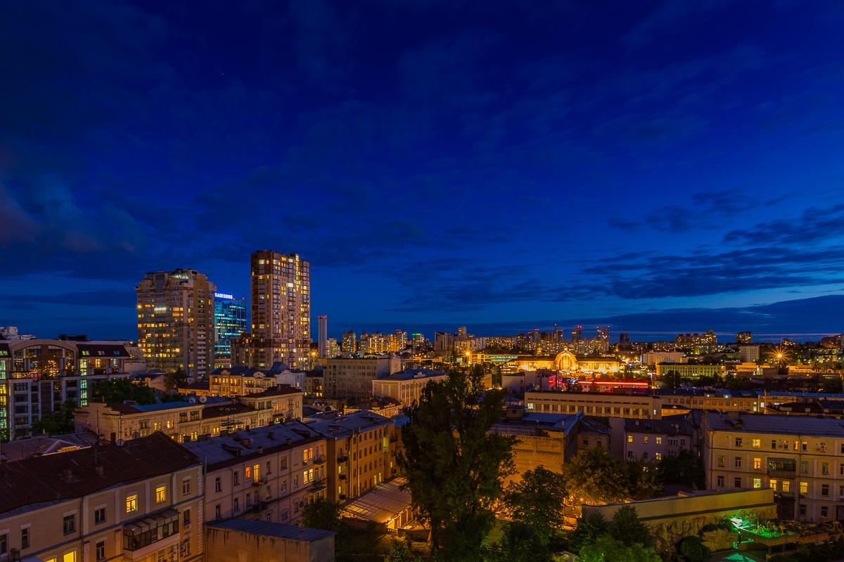 Kiev at Night