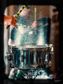 Water on a Drum